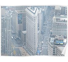 Aerial View of Flatiron Building, As Seen from Empire State Building  Poster