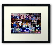 Movie Snacks Framed Print