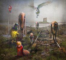 'Sinking Kingdom' by Matylda  Konecka Art