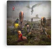 'Sinking Kingdom' Canvas Print