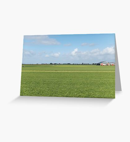 Tranquil field Greeting Card