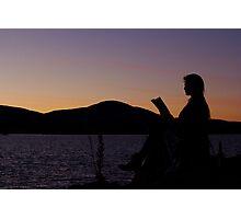 Literature In Solitude Photographic Print