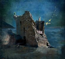 'The Castles Nighttime Secret' by Matylda  Konecka Art