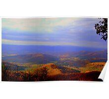 Rolling Virginia Hills Poster