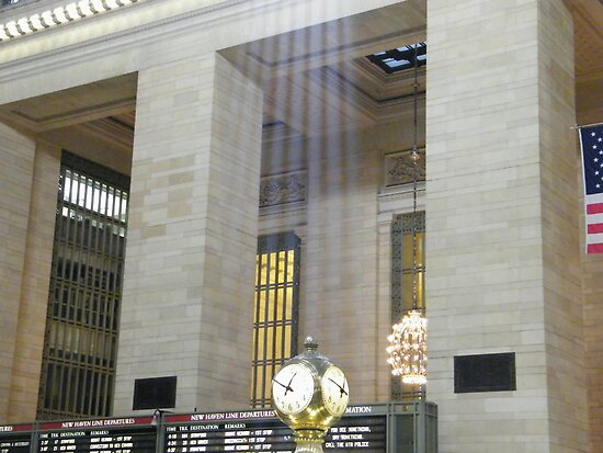 Sunlight Streaming into Grand Central Terminal by lenspiro