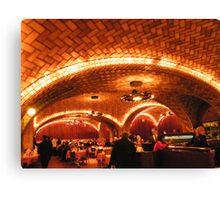 Historic Oyster Bar Restaurant, Grand Central Terminal Canvas Print