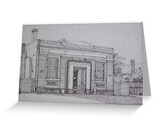 Bank Building Dumbleyung Western Australia Greeting Card