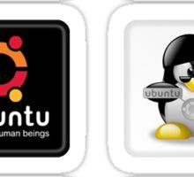 Ubuntu 6 Sticker Set Sticker