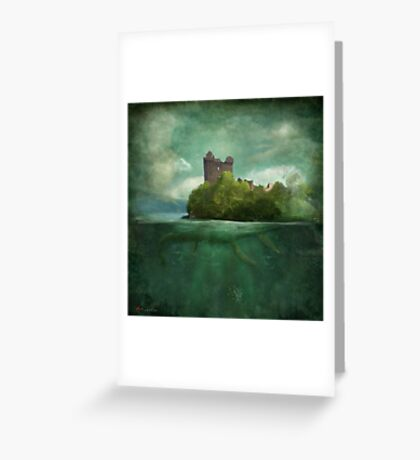 'Under The Castle'  Greeting Card