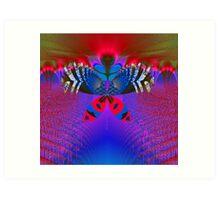 """""""Butterfly World"""" Art Print"""