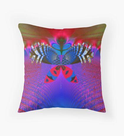 """""""Butterfly World"""" Throw Pillow"""