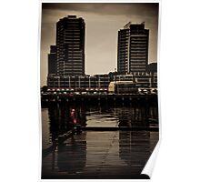 Docklands Mood Poster