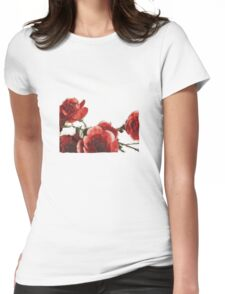 Love Petals Womens Fitted T-Shirt