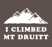 I Climbed Mt Druitt by PJ Collins