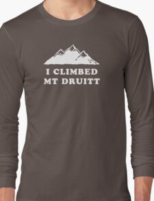 I Climbed Mt Druitt Long Sleeve T-Shirt