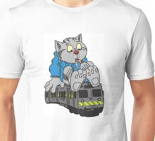 Fritz the Cat Train Unisex T-Shirt