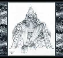 Morgoth Bauglir by Curtiss Shaffer