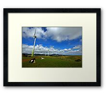 Wind Generation and Nature Framed Print