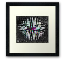neon lights Framed Print