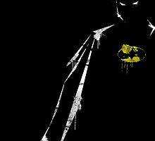 Batman Minimal by Roland Molnár