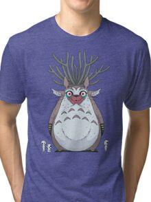 Deer God Totoro Tri-blend T-Shirt