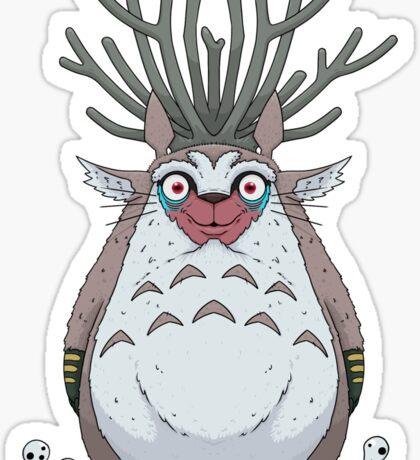 Deer God Totoro Sticker