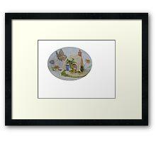 Miniature Cottage #2 Framed Print