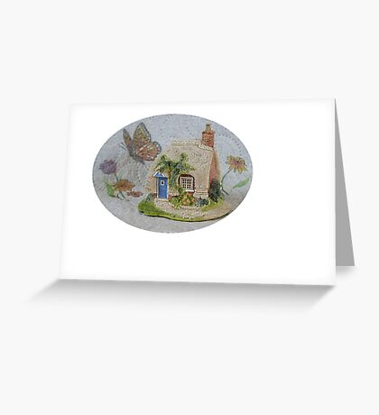 Miniature Cottage #2 Greeting Card