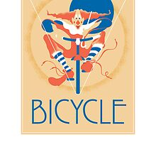 Bicycle Poster by Jane Connory