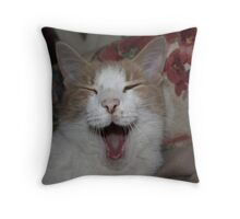 BORING !!!! Throw Pillow