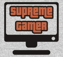Supreme Gamer (Orange) by xtrolix