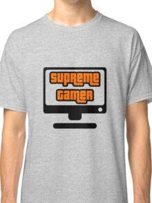 Supreme Gamer (Orange) Classic T-Shirt