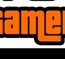 Supreme Gamer (Orange) Sticker