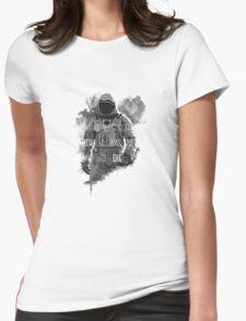 interstellar Womens Fitted T-Shirt
