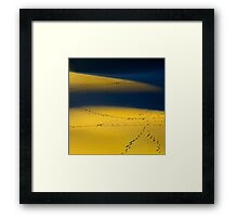 I left my heart in 'Death Valley' Framed Print