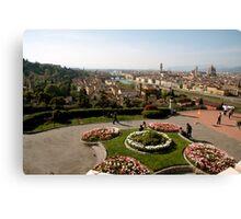 Firenze overview  Canvas Print