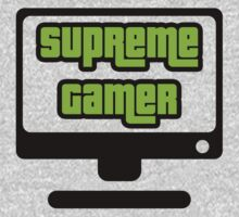 Supreme Gamer (Green) by xtrolix