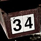 Letter Box Number 34 by onehappycamper