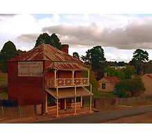 The General Grocer- Hill End  Photographic Print
