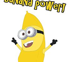 Banana Power! (Minion) by Dyscordia