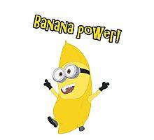Banana Power! (Minion) Photographic Print