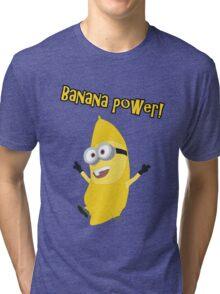Banana Power! (Minion) Tri-blend T-Shirt