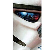 Helemets Stormtrooper Photographic Print