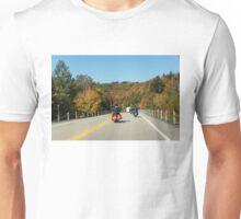 Joyful Autumn Ride - Bikers Know the Best Roads Unisex T-Shirt