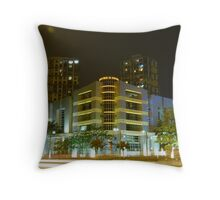 Two Point Perspective Throw Pillow