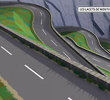 #PolyPeloton : Postcards - Les Lacets De Montvernier by PolyPeloton