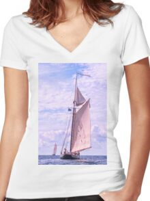 Tall Order Women's Fitted V-Neck T-Shirt