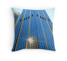 Office Blocks in Sydney Throw Pillow