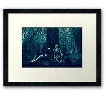 Dialect with Death Framed Print