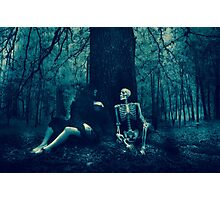 Dialect with Death Photographic Print